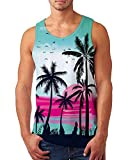 uideazone Mens Tank Top Casual 3D...
