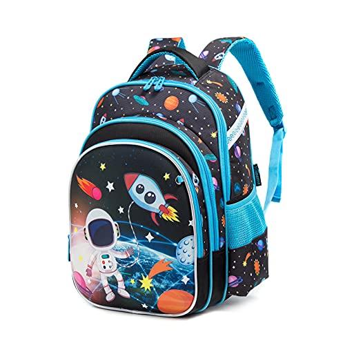 IvyH Zaino per bambini casual ragazzi ragazze zaino per bambini zaino scuola borsa da viaggio borsa da scuola per 3-7 classi, 42x19x30cm