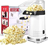 Best Hot Air Poppers - Popcorn Maker, 1200W Hot Air Popper Popcorn Machine Review