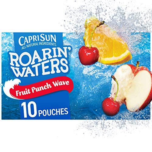 Capri Sun Roarin' Waters Fruit Punch Ready-to-Drink Juice (10 Pouches)