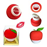 Lesnic Sexy Full Best Lip Plumpers Device Enhancer Hot Sexy Mouth Beauty Lip Pump Enhancement New Style, Pump Device Quick Lip Plumper Enhancer (Red Plumper)