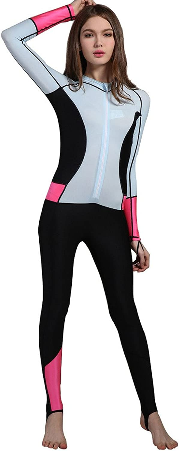 Swimsuit for Women Design One Piece Longsleeve Surfing Suit Sun Predection
