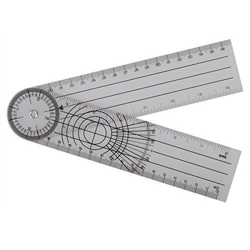 Tutoy Profesional 360 Grado Multi-Regla Goniómetro...