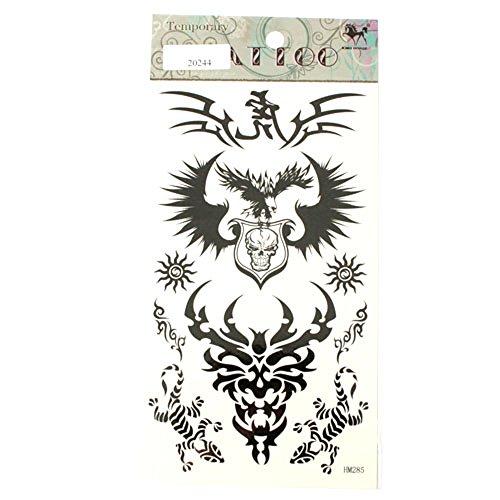 Tattoos Tribals Adler Totenkopf Sonnen Geckos