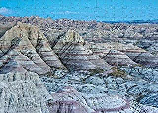 Media Storehouse 252 Piece Puzzle of Panorama Point in Badlands National Park, South Dakota, USA (18244621)
