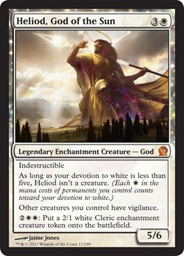 Magic The Gathering - Heliod, God of The Sun (17/249) - Theros