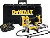 DEWALT - Pompe A Graisse Electrique Sur Batterie XR 18V 4Ah Li-Ion - DCGG571M1-QW - Sans Fil - Pompe Graisse Avec Batterie Incluse - Avec Chargeur Multi-voltage, Une Bandoulière Et Coffret TSTAK