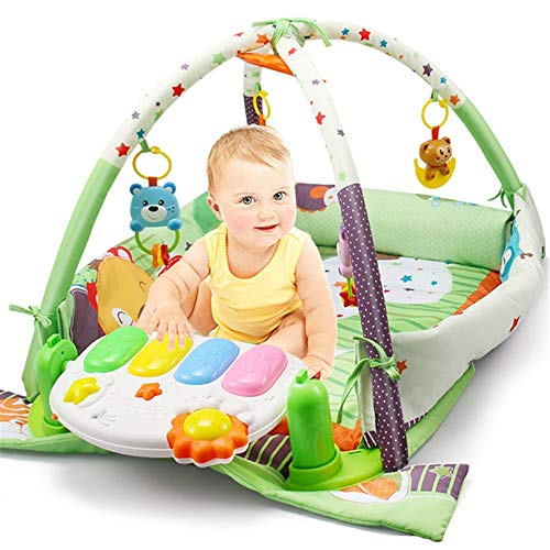 Byx Fitness Rack Tap Piano Neugeborenes Baby Spielzeug Baby Qizhi Kinder Musik Früherziehung Puzzle 0-2 Jahre alt Geschenk Baby Piano Gym
