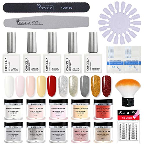 Saint-Acior kit 10pc dipping powder set dipping polvere set colori per...