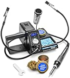 X-Tronic Model #3020-XTS Digital Display Soldering Iron Station - 10 Minute Sleep Function, Auto Cool Down, C/F Switch,...