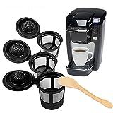Genenic 3pcs réutilisables de Remplacement de Filtre à café Capsules Rechargeables...