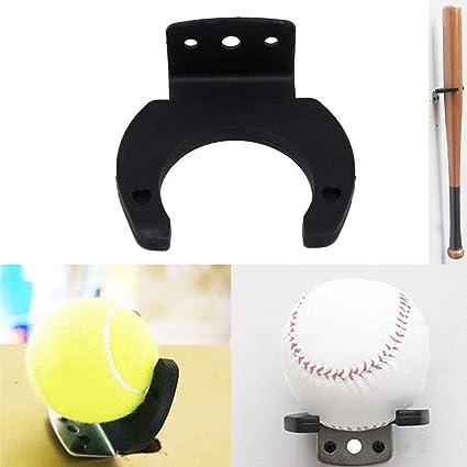 Soporte de Pared Soporte Vertical para Bate de b/éisbol Bate de b/éisbol Bate de b/éisbol VRockefeller