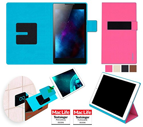 Hülle für Lenovo Tab 2 A7-30 Tasche Cover Hülle Bumper | in Pink | Testsieger