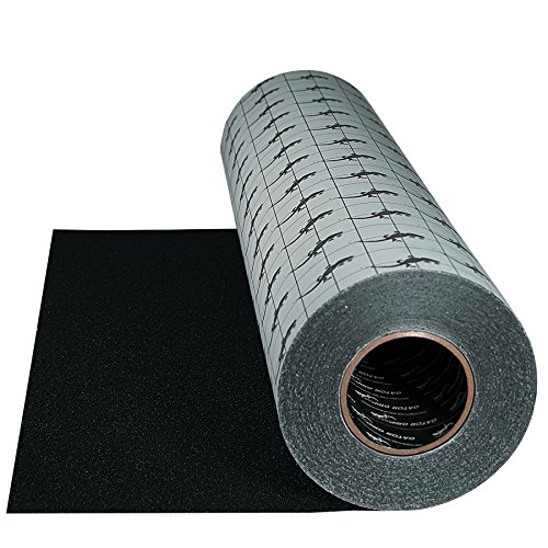 Gator Grip: Premium Grade High Traction Abrasive Non Slip 60 Grit Indoor Outdoor Anti-Slip Adhesive Grip Safety Tape, 24 Inch x 60 feet, Black – used on stairs, docks, treads, boats, ramps -SG3124B