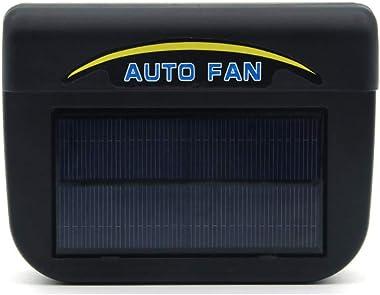 lzndeal Solar Powered Air Vent Cooling Fan,Solar Exhaust Fan,Cooler,Radiator,Ventilator,Solar Powered Car Window Windshield Auto Air Vent Cooling Fan Cooler Radiator Ventilator