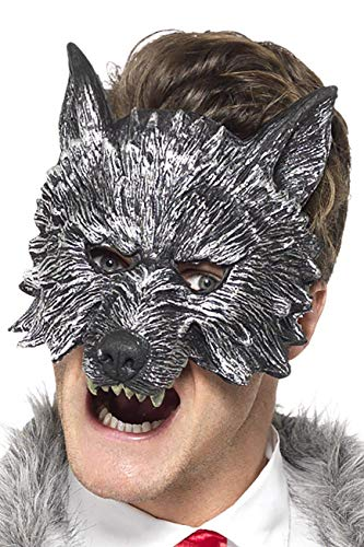 Smiffys Costume grand méchant loup Deluxe, gris