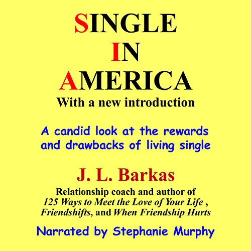 Single in America audiobook cover art