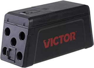 Victor M241 No Touch, No See Upgraded Indoor Electronic Rat Trap - 1 Trap , Black