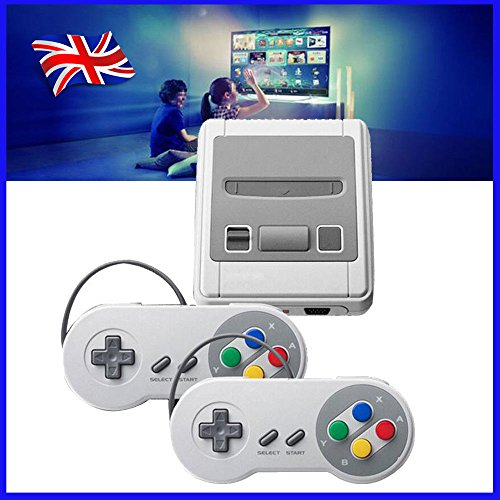 2018 TV VIDEO GAMES, SMART HDMI CLASSIC BUILT IN 621 GAMES 2 CONTROLLER