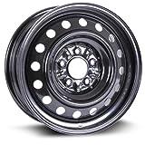 RTX, Steel Rim, New Aftermarket Wheel, 16X6.5, 5X114.3, 67.1, 40, black finish X99154N
