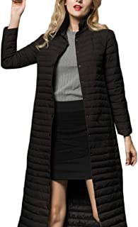 Women Long Down Coat Packable Lightweight Puffer Jacket Coat