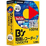 B's 動画レコーダー 7+DVDビデオ(最新) Win対応