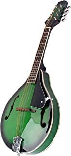 D DOLITY 8 String Acoustic Mandolin Basswood Music Instruments Green