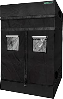 """ULTRA YIELD 60""""x60""""x84"""" + 12"""" Extension Grow Tent - 1680D Mylar Professional Indoor Growing Tents - Use for Hydroponics Growing System - 5x5"""