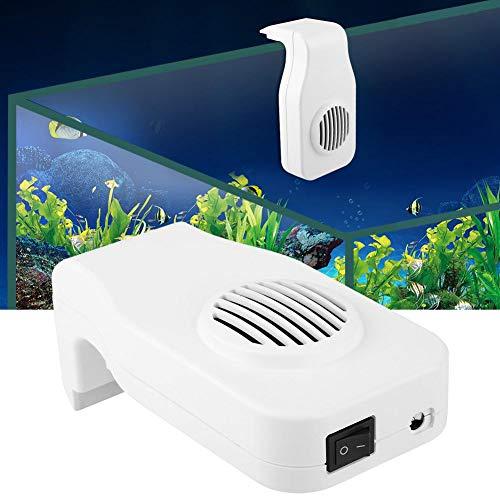 HEEPDD Visreservoir, ventilator, wandkoeling aan één hoofd, koelsysteem voor zoet water en zout water, Wit.