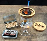 Cherry Tempest - Foghat Culinary Smoking Fuel | Infuse Wine, Whiskey, Cheese, Meats, BBQ, Salt | Luxury Wood Smoking Chips for Portable Smoker, Smoking Gun, Glass Cloche or Foghat Cocktail Smoker