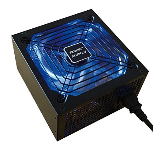CoolBox Deep Power 800W 800W AT Negro - Fuente de alimentación (220-240 V, 20+4 Pin ATX, 50-60 Hz, Activo, ATX, PC)