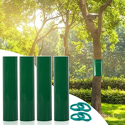 Stingmon 4 Piezas de Cinta de Goma para árboles de 3m×15cm para...