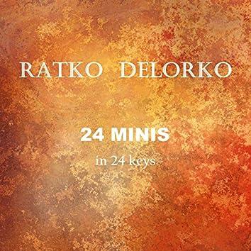 Ratko Delorko, 24 Minis in 24 Keys