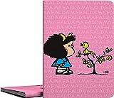 Grafoplás 01332149-Carpeta de fundas A4 soldadas, Diseño Mafalda Pajarito, 30 fundas transparentes