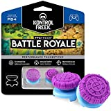 KontrolFreek FPS Freek Battle Royale Performance Thumnbsticks for PlayStation 4 (PS4) Controller | 2 High-Rise Convex | Purple