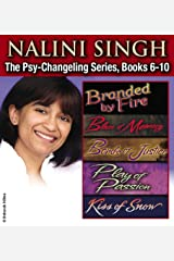 Nalini Singh: The Psy-Changeling Series Books 6-10 (Psy-Changeling Omnibuses) Kindle Edition