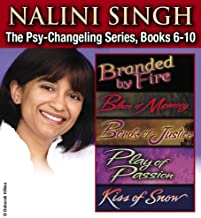 Nalini Singh: The Psy-Changeling Series Books 6-10 (Psy-Changeling Novel, A) (English Edition)