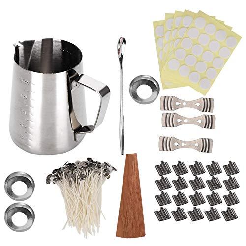 Kits de bricolaje Kits de fabricación de velas, suministros de fabricación de velas, hechos a mano para velas de regalo de bricolaje