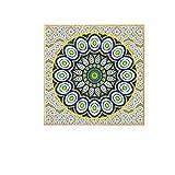 HD Malerei moderne Pfau und Mandala Blume religiöse