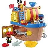PlayGo - Barco pirata de juguete con luz y sonido (46397)