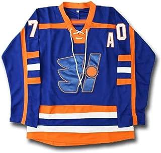 Custom Laflamme #70 Halifax Highlanders Movie Hockey Jersey