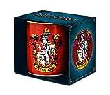 Harry Potter - Taza (porcelana, 8 x 8 x 9,5 cm), color rojo