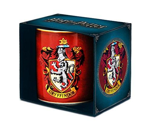 Harry Potter Tasse, Porzellan, Rot, 8 x 8 x 9.5 cm, 1 Stück