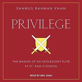 Privilege audiobook cover art