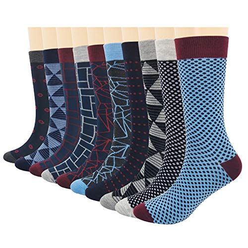 3KB Men's Dress Socks - Geometric Collection 7-11