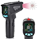 Infrared Thermometer Non-Contact Digital Laser IR Temperature Gun for...