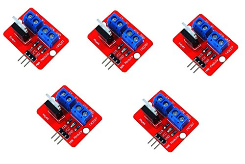 WINGONEER 5Pcs IRF520 MOSFET modulo driver