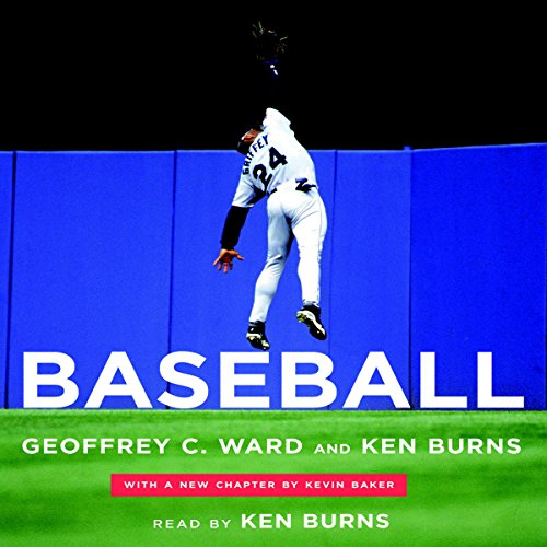 Baseball audiobook cover art