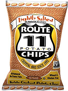 Route 11 Potato Chips Lightly Salted  case of 30 bags 2oz each