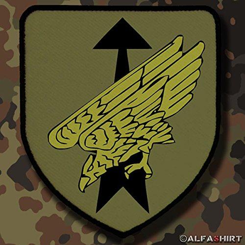 Copytec Patch/Aufnäher - Aufnäher DSO Tarn Patch Bundeswehr Division Spezielle Operationen Luftlandedivision Eingreif Stabilisierungskräfte #7486